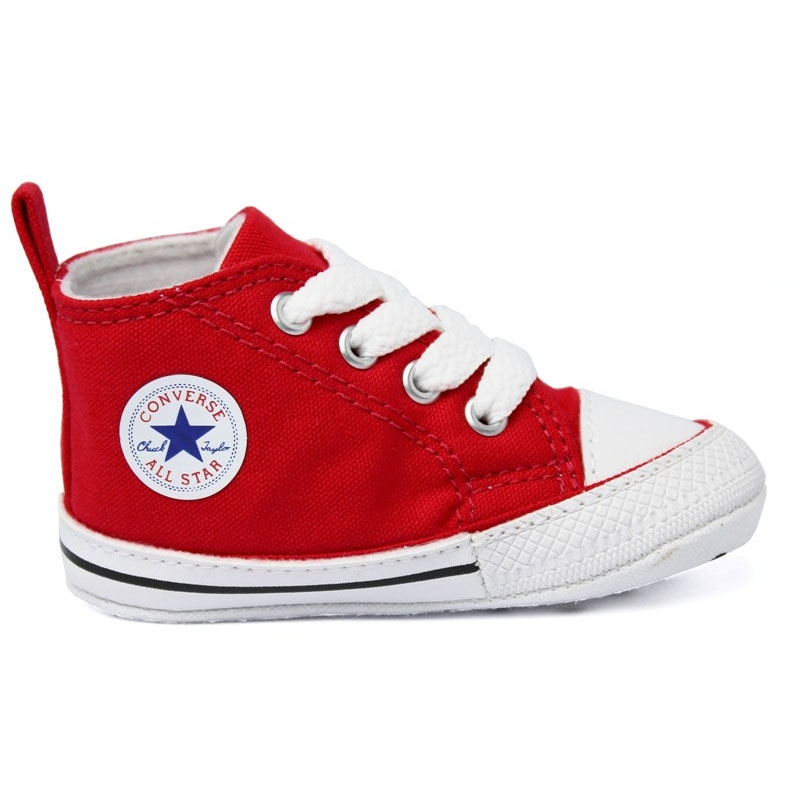 ALL STAR BABY FIRST STAR LACES VERMELHO