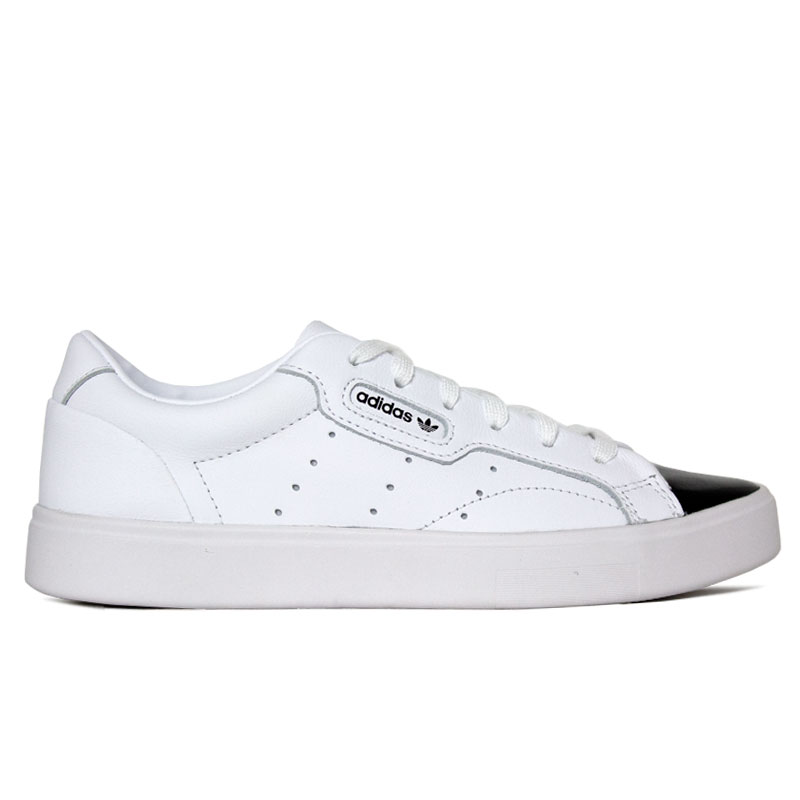 TENIS ADIDAS SLEEK W WHITE/BLACK