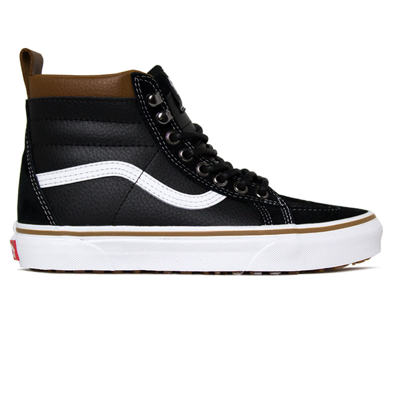 TENIS VANS SK8 HI MTE LEATHER /BLACK/TRUE