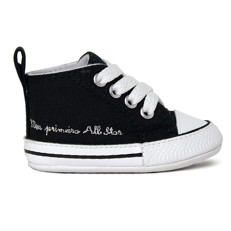 ALL STAR BABY FIRST STAR LACES PRETO