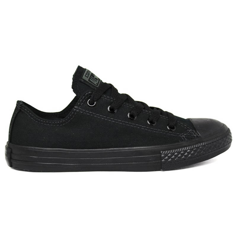 ALL STAR INFANTIL MONOCHROME OX PRETO