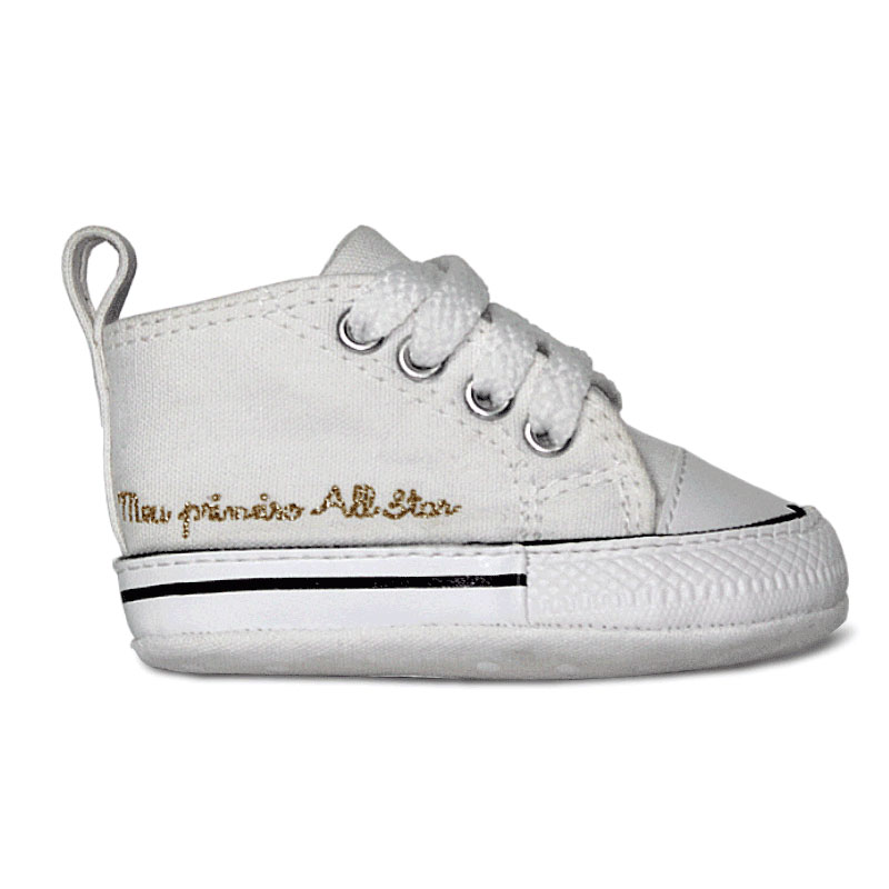 ALL STAR BABY FIRST STAR LACES BRANCO
