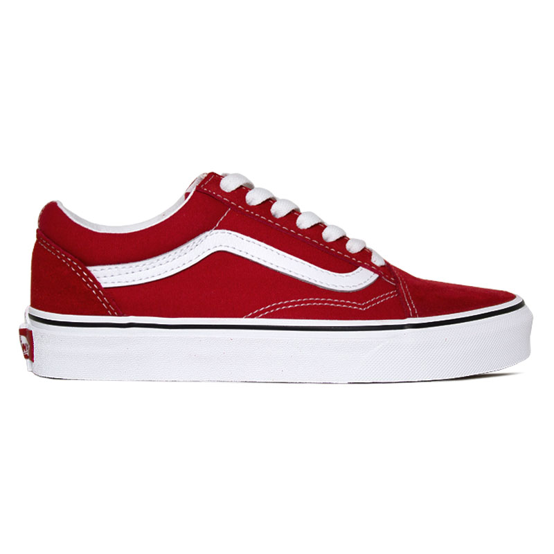 TÊNIS VANS OLD SKOOL RACING RED/TRUE WHITE