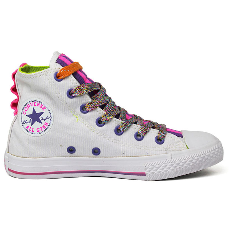 ALL STAR INFANTIL LOOPHOLES HI BRANCO