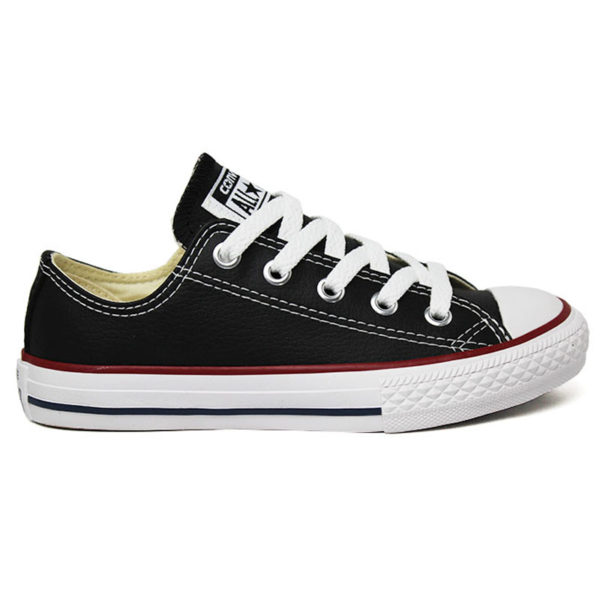 ALL STAR INFANTIL COURO ECO PRETO