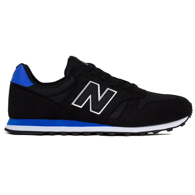NEW BALANCE  MASCULINO BLACK/ROYAL BLUE
