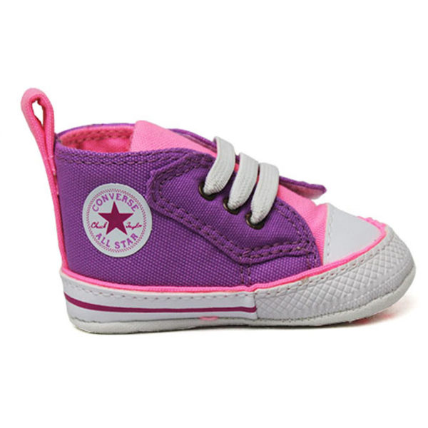 ALL STAR BABY FIRST STEP LILAS FLUOR/ROSA FLUOR/BC