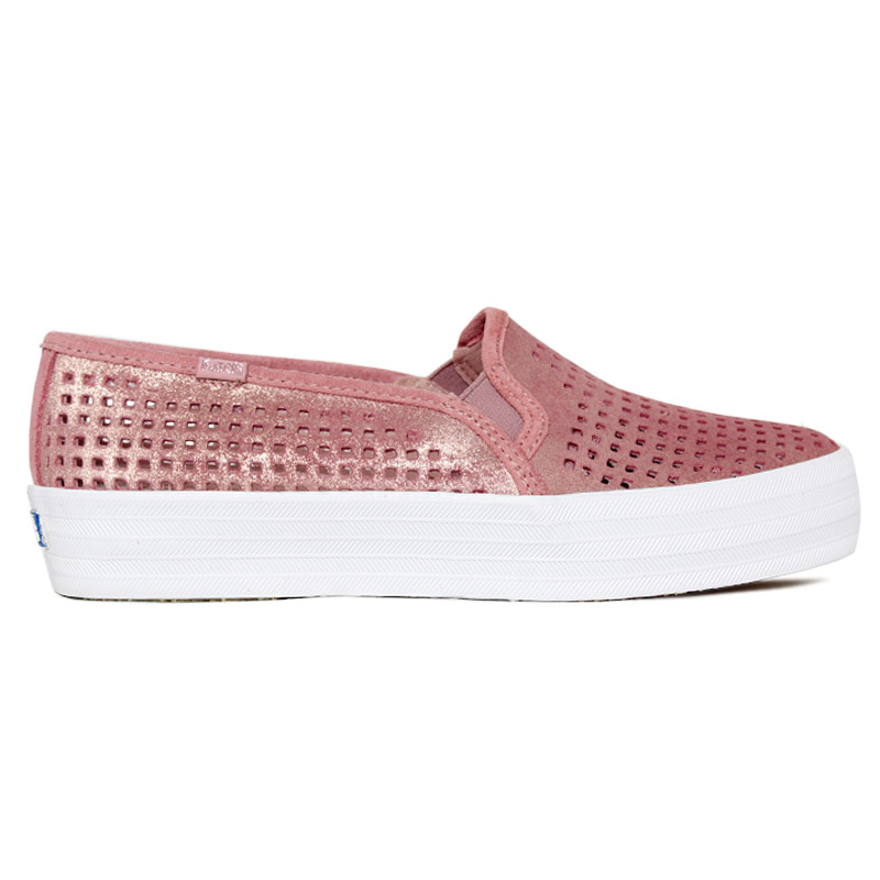 KEDS TRIPLE DECKER SUEDE SUMMER ROSA