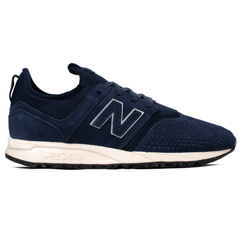 NEW BALANCE 247 MASCULINO NAVY SUEDE