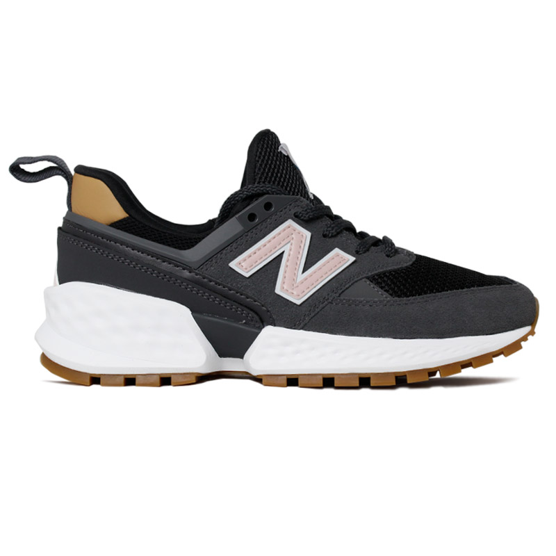NEW BALANCE 574 FEMININO DARK/BROWN/ROSE