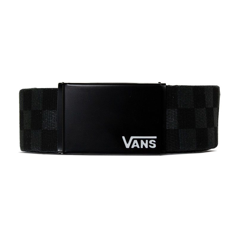 CINTO DEPPSTER WEB BELT BLACK-CHARCOAL QUADRICULAD