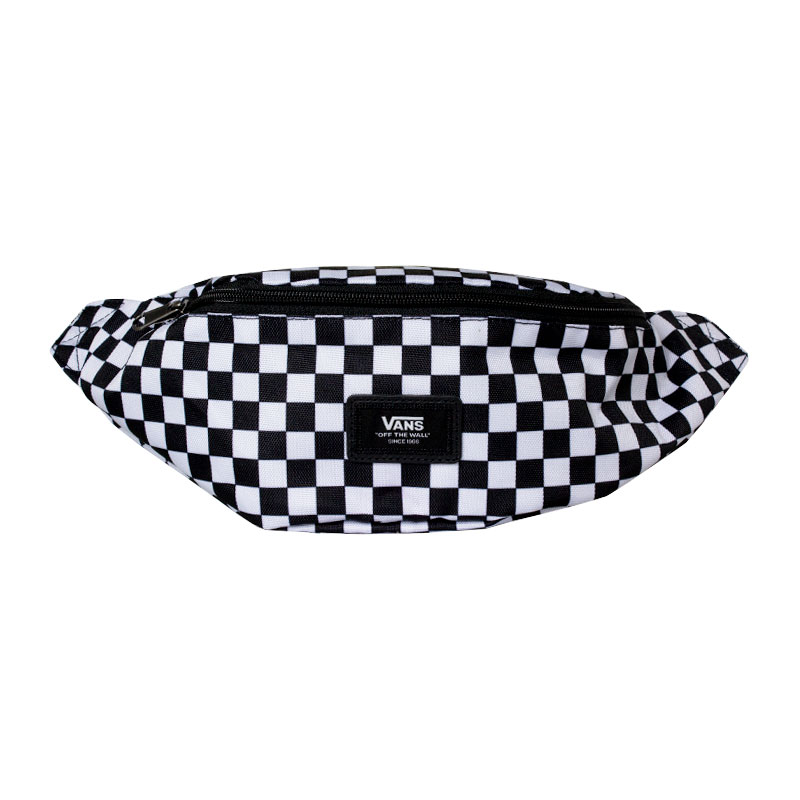 POCHETE WARD CROSS BODY BLACK-WHITE CHECK