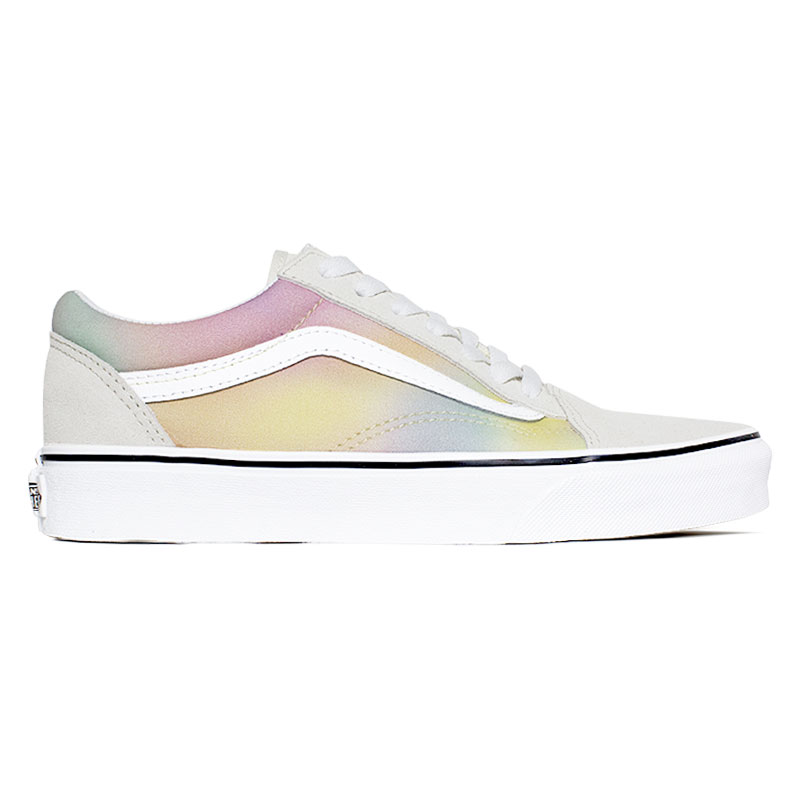 TÊNIS VANS OLD SKOOL MULTI/TRUE WHITE