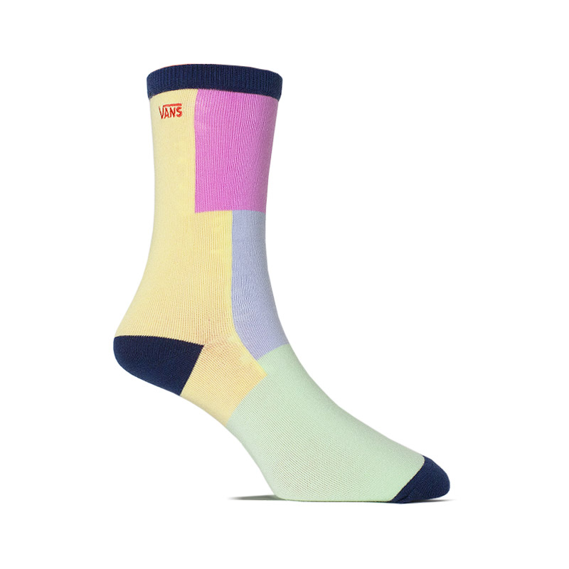 MEIA TICKER SOCK BLACK CHECKWORK 36-39