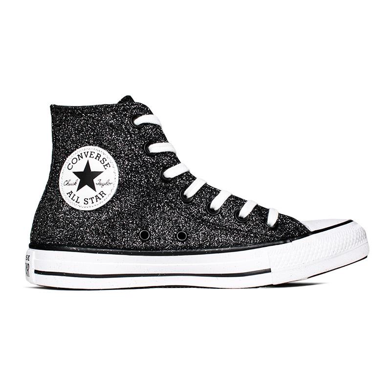 ALL STAR GLITTER HI PRETO - Converse é