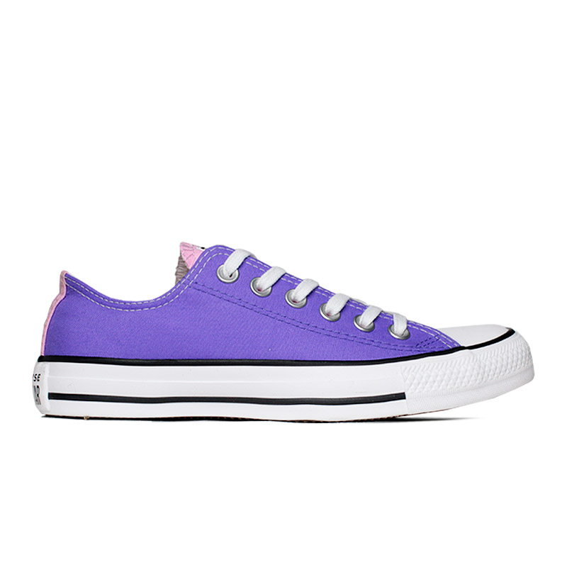 ALL STAR 3 COLORS OX AZUL BEBE/LILAS