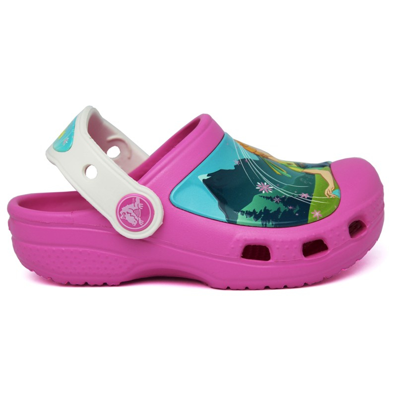 CROCS INFANTIL FROZEN PARTY PINK/OYSTER