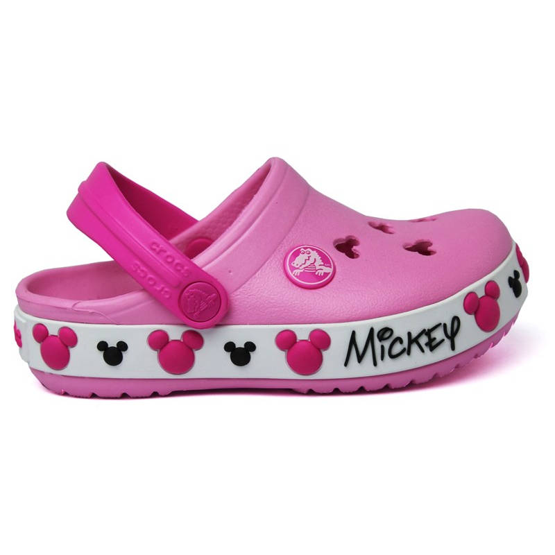 CROCS MICKEY IV CARNATION