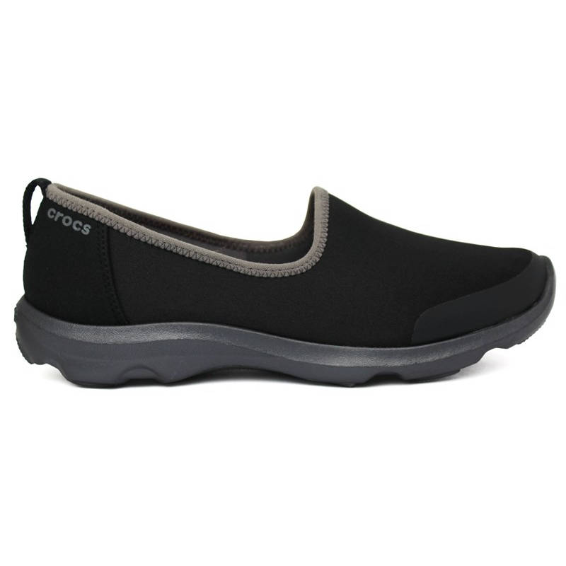 CROCS DUET BUSY DAY SKIMMER BLACK- GRAPHITE