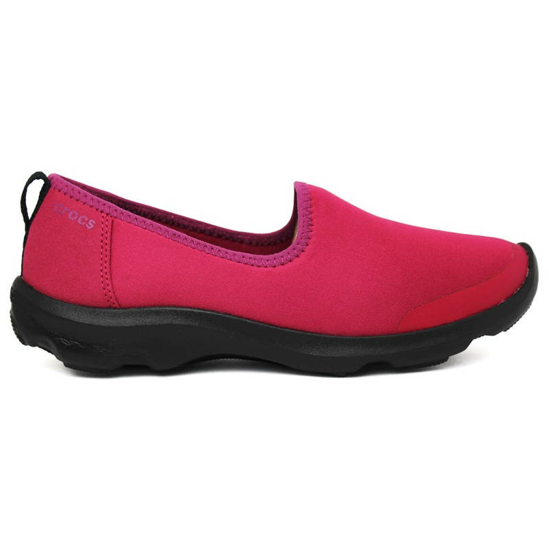CROCS DUET BUSY DAY SKIMMER PLUM