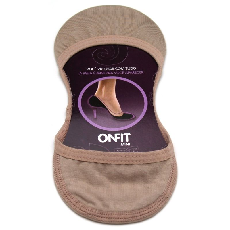 MEIA MINI ONFIT CHOCOLATE 37/38/39