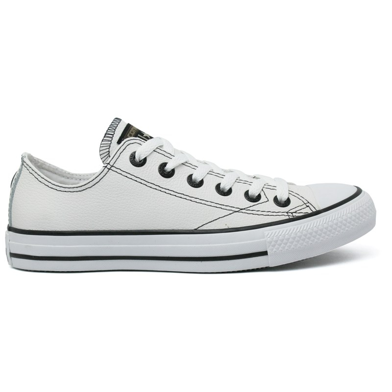 ALL STAR EUROPEAN LEATHER OX BRANCO  c887648b2b77b