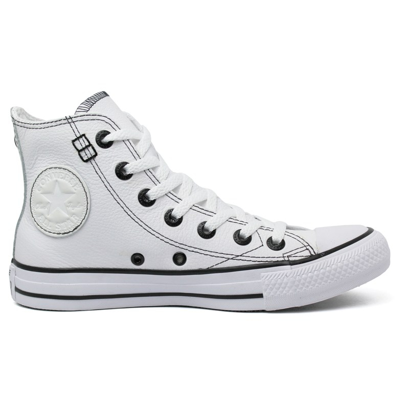 ALL STAR EUROPEAN LEATHER HI BRANCO