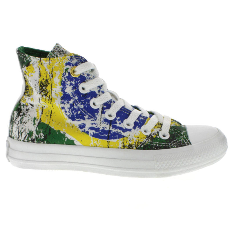 ALL STAR HI PRINT VERDE FLORESTA