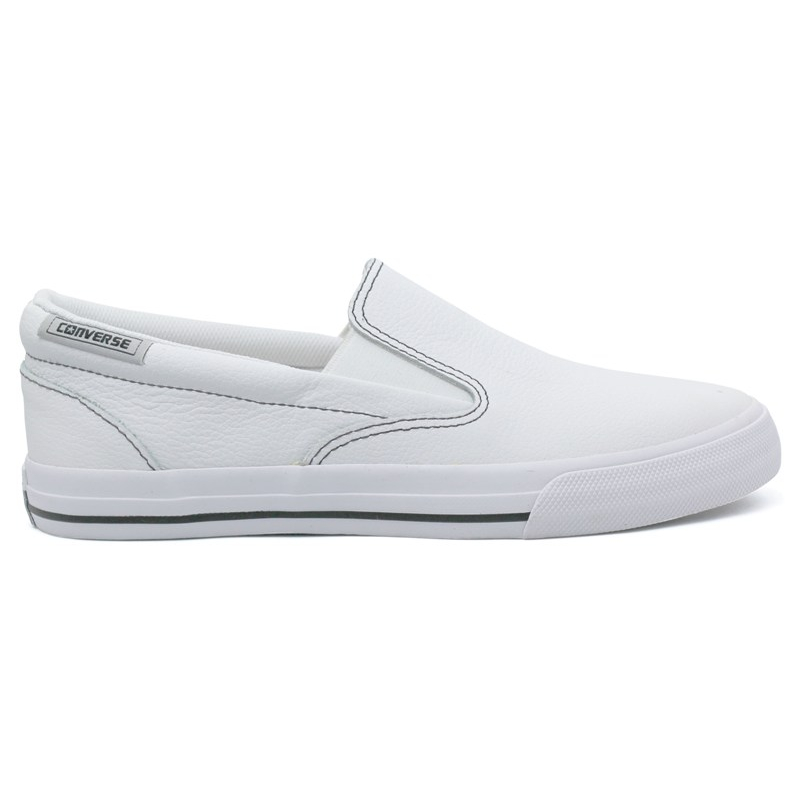 ALL STAR SKIDGRIP LEATHER BRANCO
