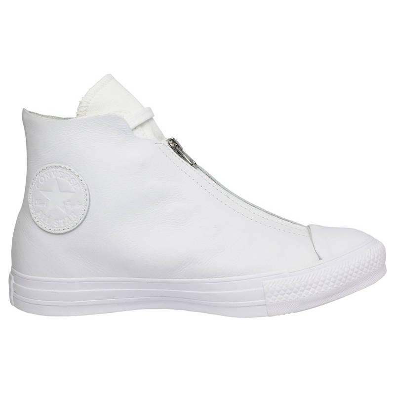 ALL STAR LEATHER SHROUD HI BRANCO