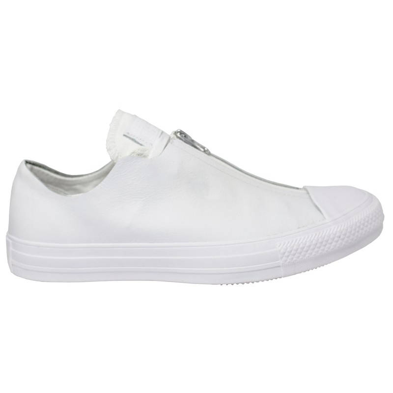 ALL STAR LEATHER SHROUD OX BRANCO