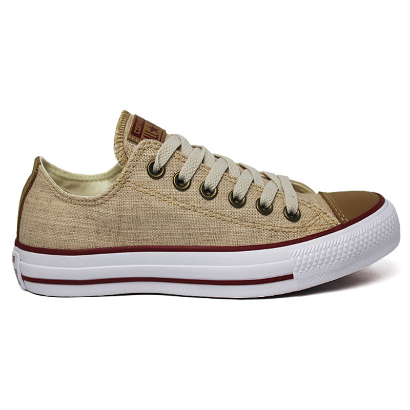 ALL STAR CHUCK TAYLOR OX NATURAL LINHO