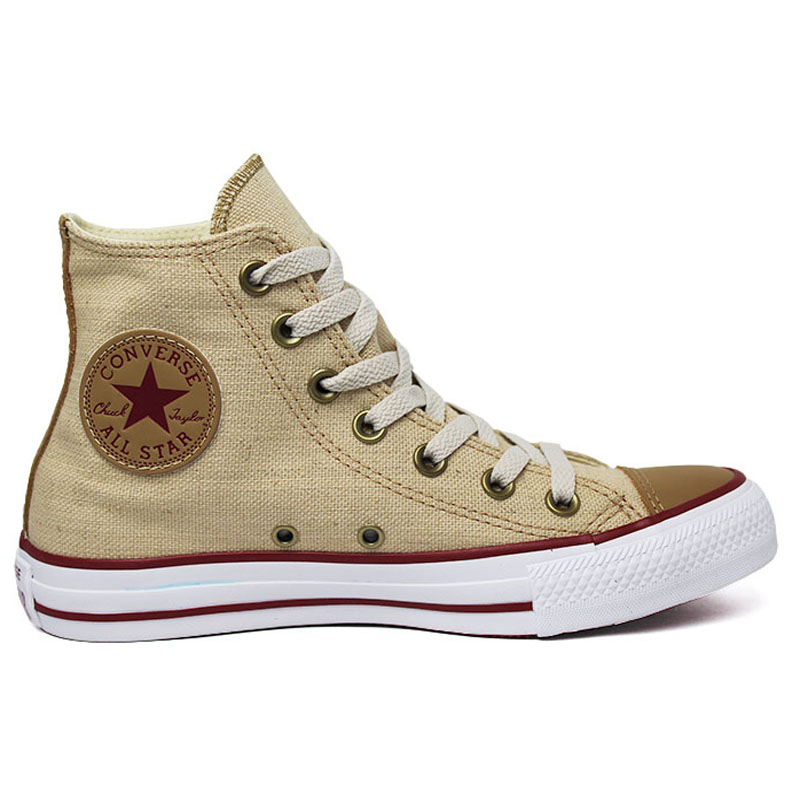 ALL STAR CHUCK TAYLOR HI NATURAL LINHO