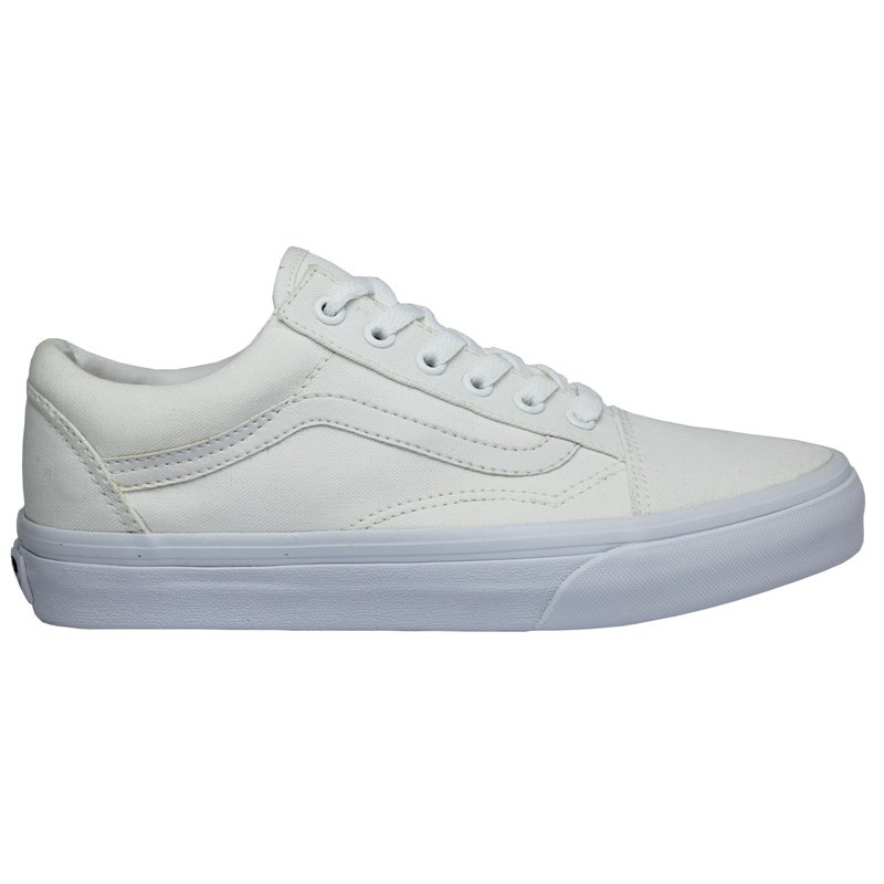 TÊNIS VANS OLD SKOOL MONOCHROME TRUE WHITE