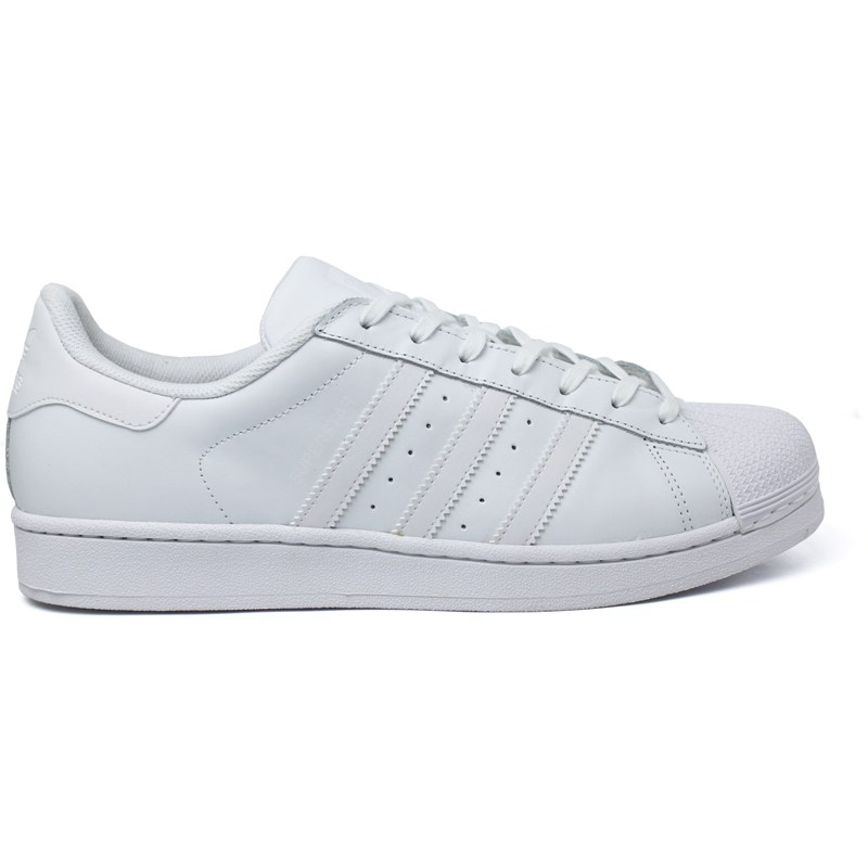 8634e6c95e TÊNIS ADIDAS SUPERSTAR FOUNDATION BRANCO