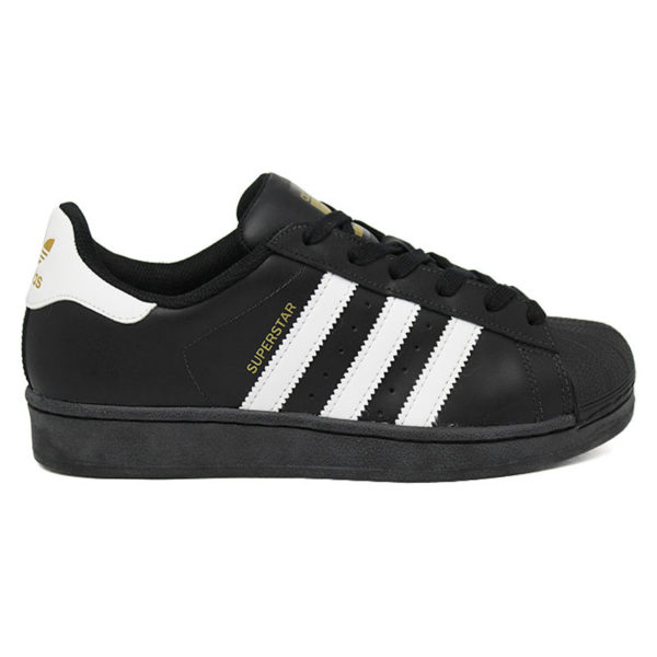 TÊNIS ADIDAS SUPERSTAR FOUNDATION BLACK/WHITE/BLAC