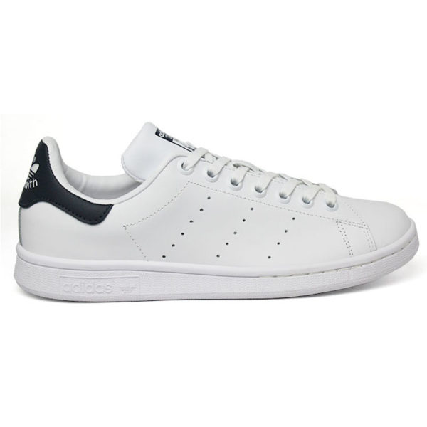 TÊNIS ADIDAS STAN SMITH WHITE/WHITE/DARK BLUE