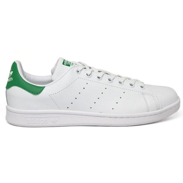 TÊNIS ADIDAS STAN SMITH WHITE/WHITE/GREEN
