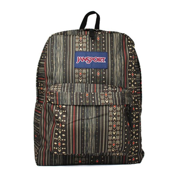 MOCHILA JANSPORT S. DOWN TOWN BROWN CAMO STRIPE