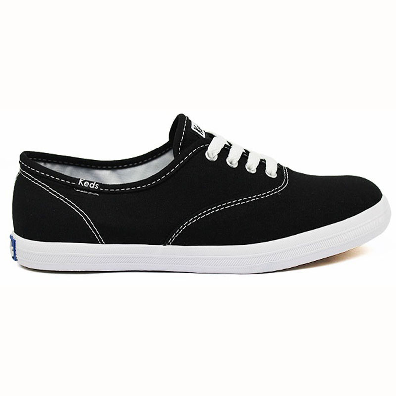 KEDS WOMAN CANVAS PRETO/BRANCO