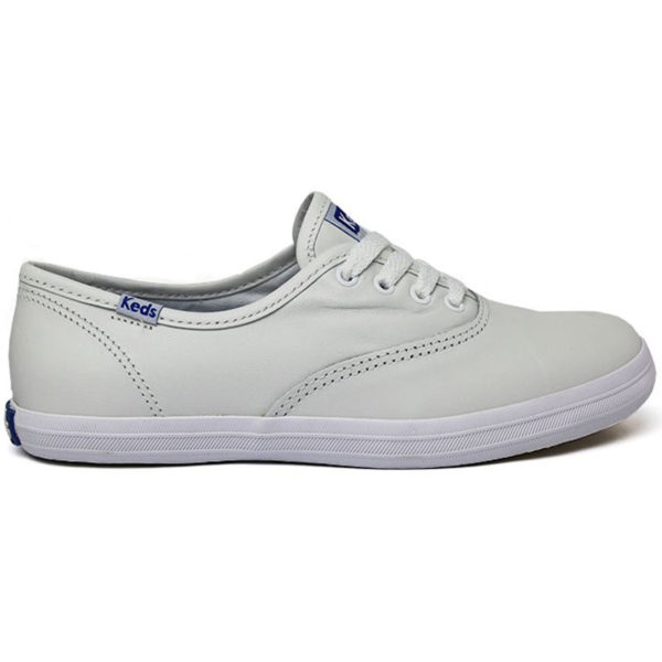 KEDS CHAMPION WOMAN LEATHER BRANCO