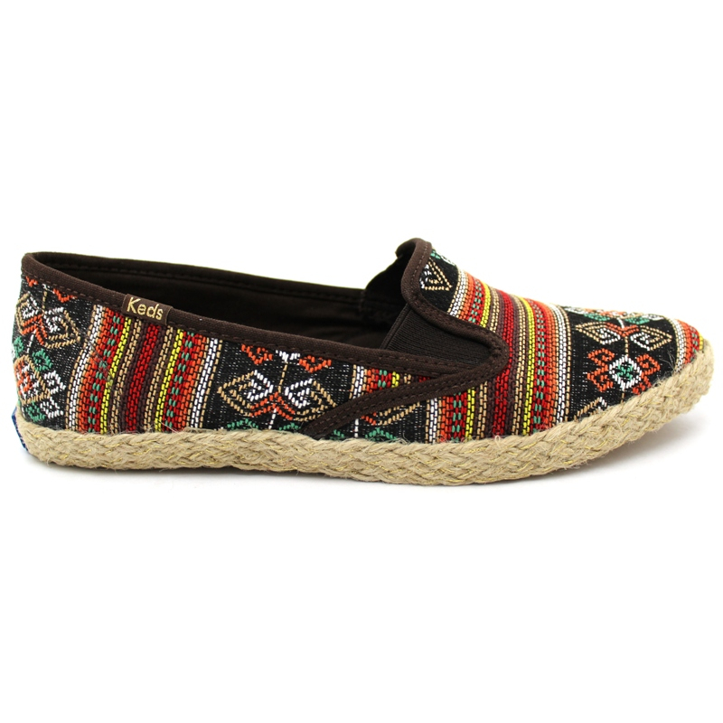 KEDS POINTER SLIP FOLK MARROM