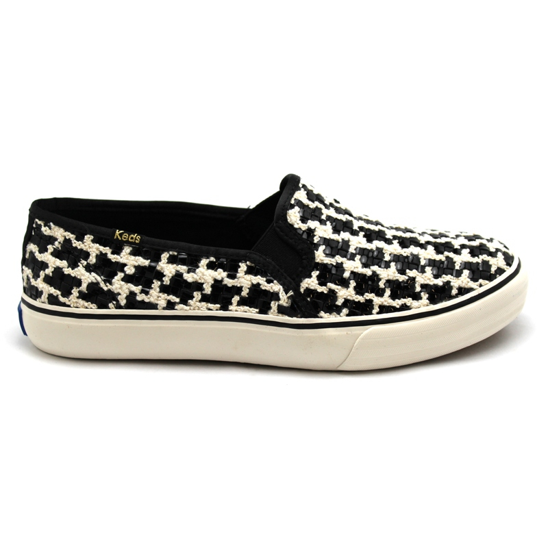 KEDS DOUBLE DECKER TEAR XADREZ PRETO