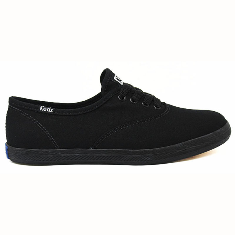 13c0ed21076 KEDS CHAMPION WOMAN CANVAS MONOCHROME PRETO