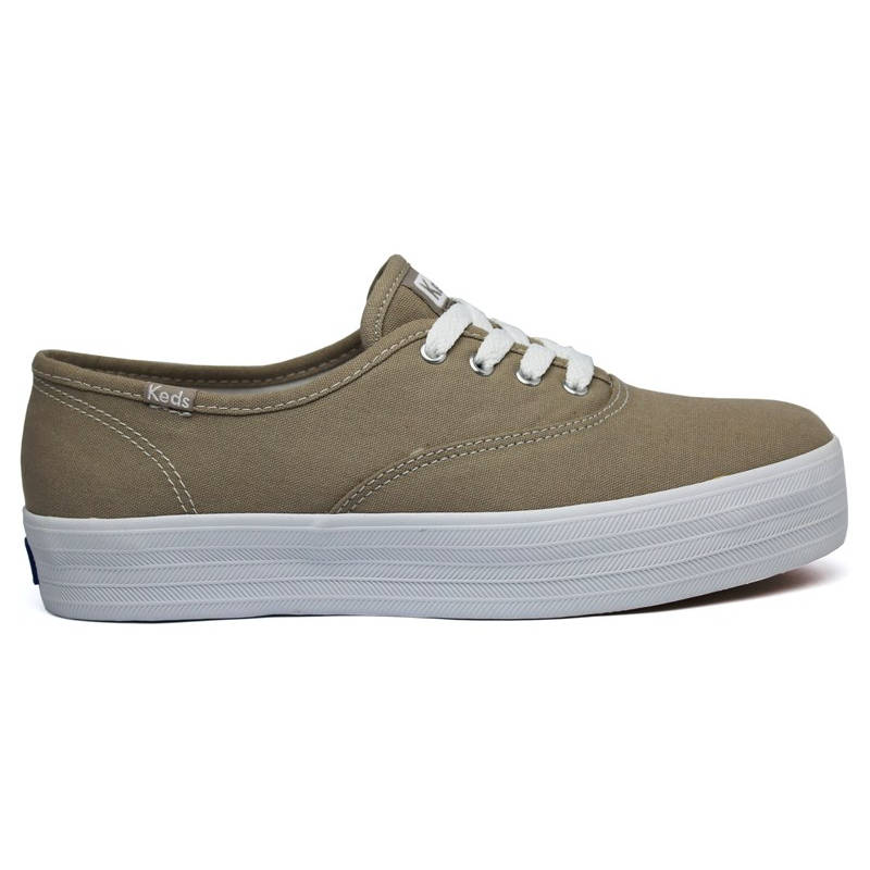 KEDS TRIPLE CANVAS TAUPE