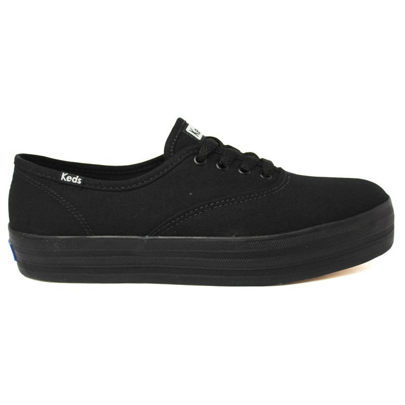 KEDS TRIPLE CANVAS PRETO/PRETO