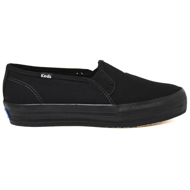 KEDS TRIPLE DECKER CANVAS PRETO/PRETO