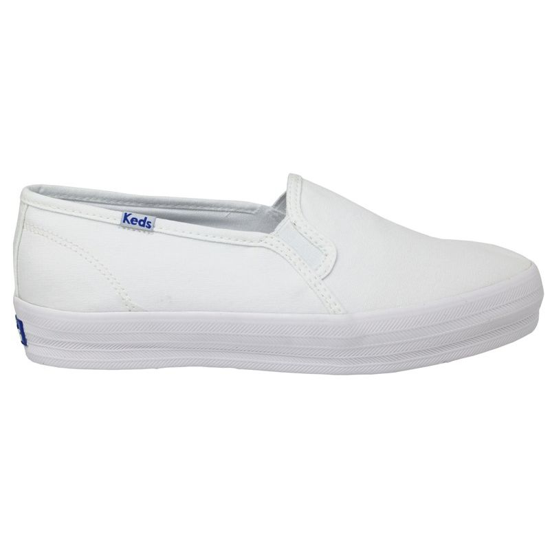 KEDS TRIPLE DECKER CANVAS BRANCO