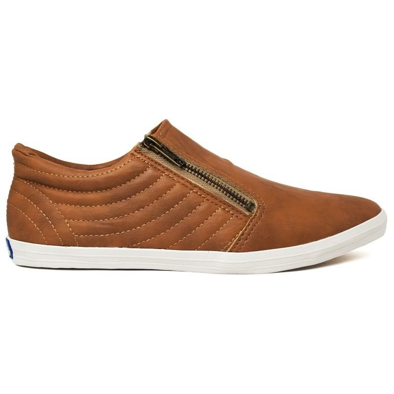 KEDS POINTER ZIP SOFT TAN
