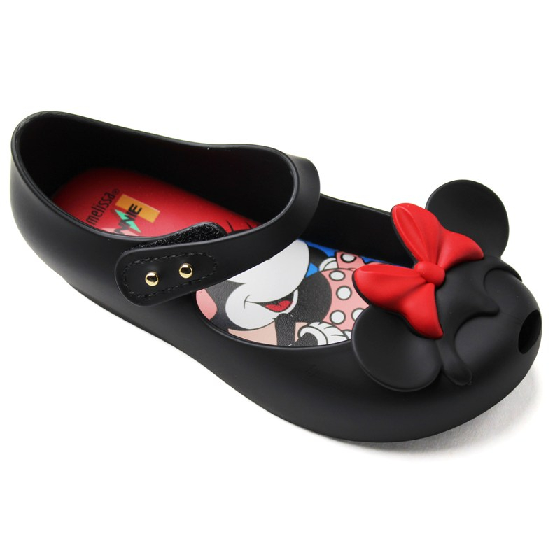 MINI MELISSA ULTRA DISNEY TWINS PRETO